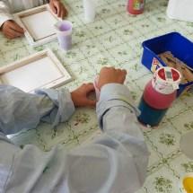 Pouring und Farbexperimente (5)
