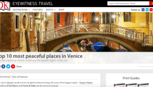 DK Travel - Top 10 Most Peaceful Places in Venice