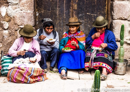 Mid-morning Snack, Pisac, Peru