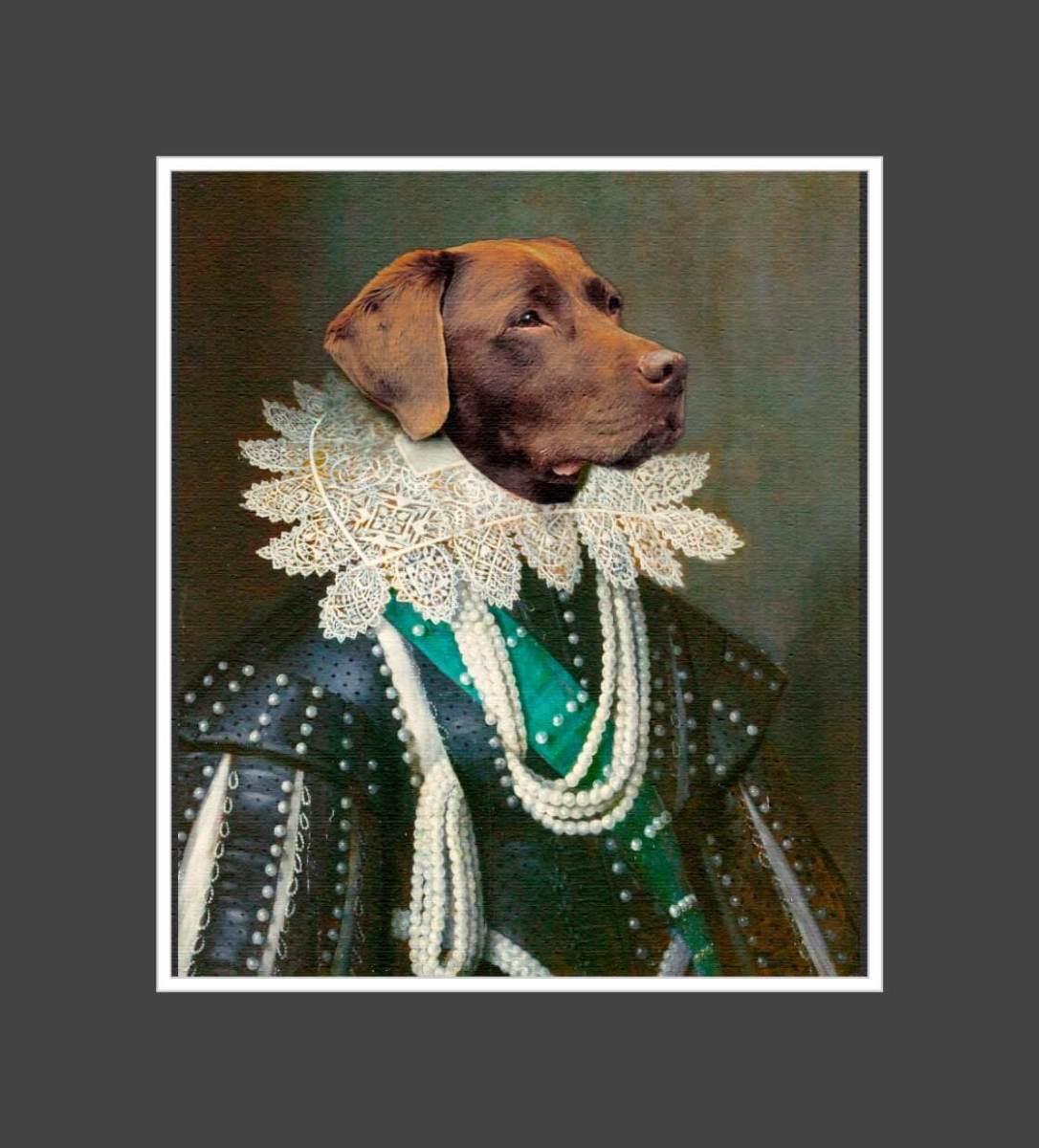 My Majestic Pet: Mijn hond vereeuwigd op doek als een koning! Rust zacht, lieve schat!