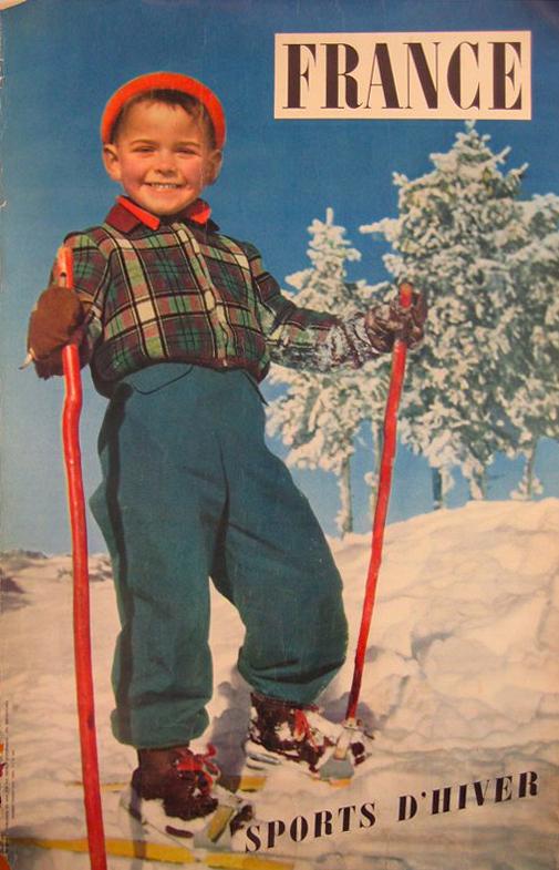French Ski Child
