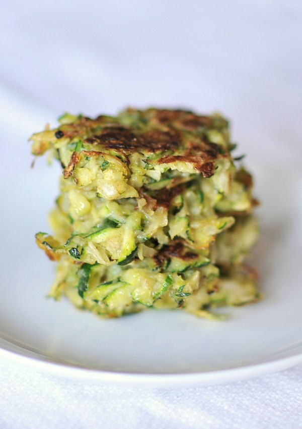 Fresh and Quick Zucchini Fritters, Kiku Corner 4