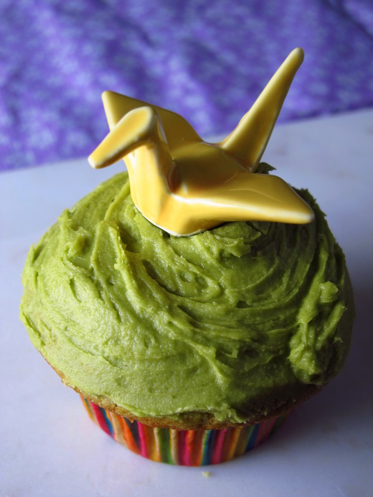 Matcha Cupcakes With Matcha Frosting