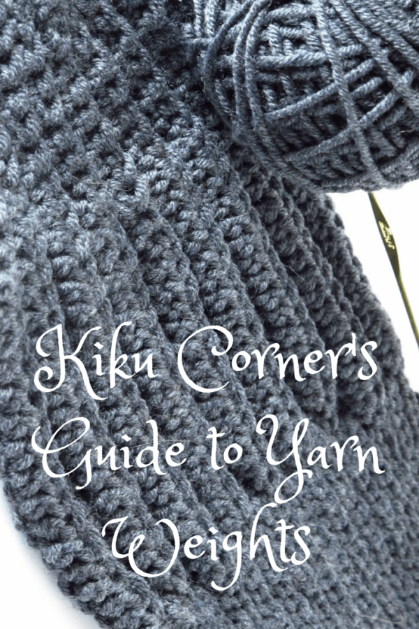 Kiku Corners Guide to Yarn Weights