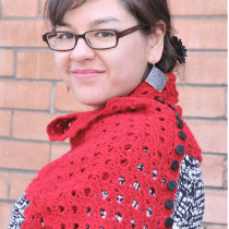 DIY Multiplicity Buttoned Crocheted Shawl