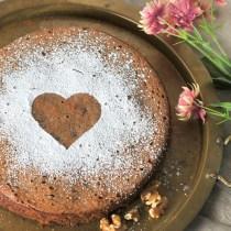 Torta di Castagne - Chocoalte Chestnut Cake