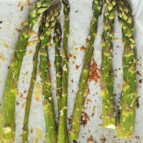 Roast Asparagus with Lemon and Parmesan