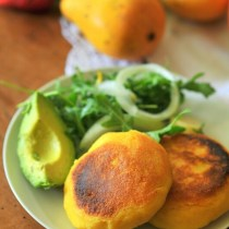 Arepas: Colombian Corn Patties