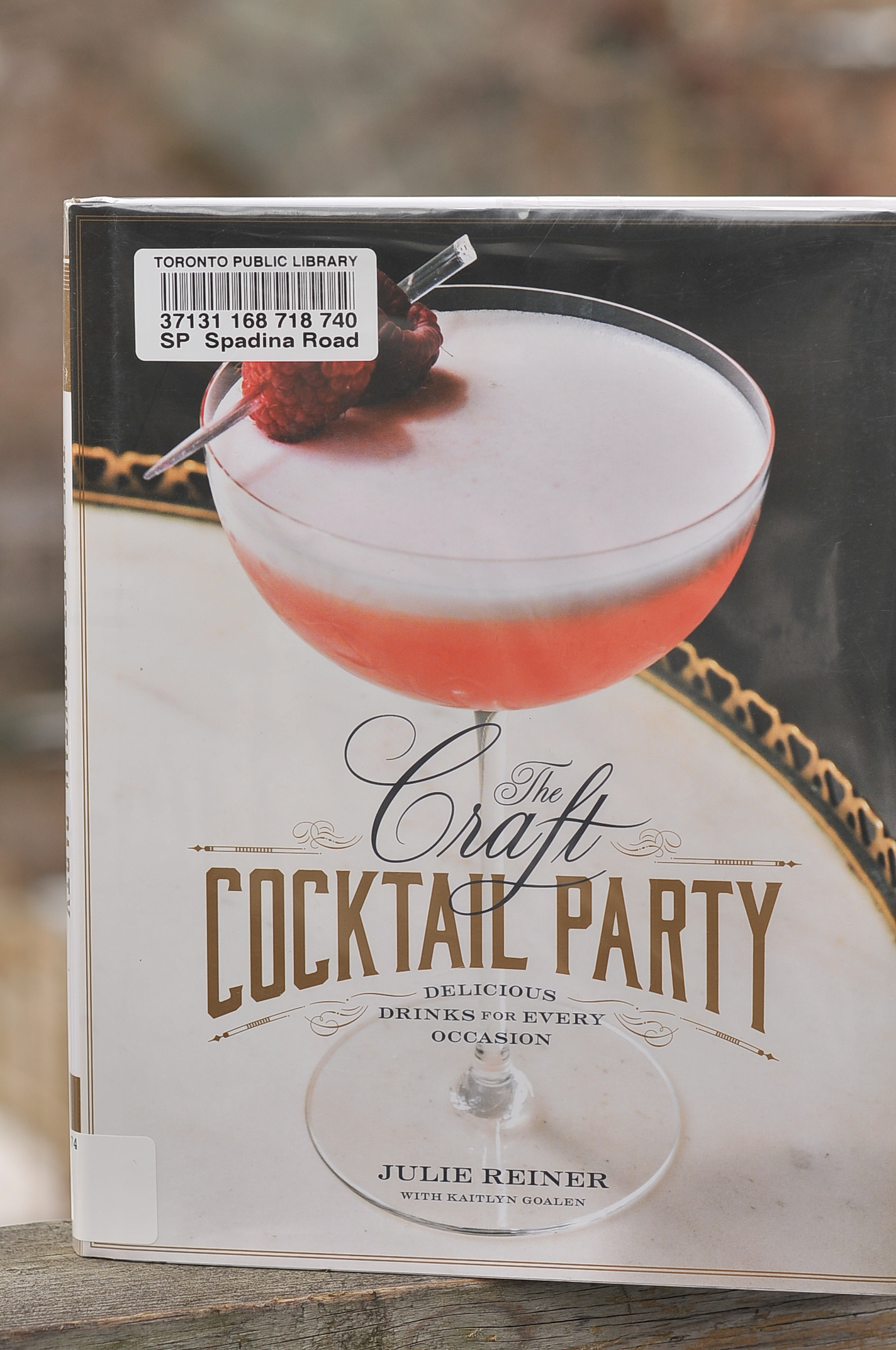 6f4a47eb9bbb1 The Year in Books: January with The Craft Cocktail Party by Julie ...