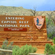 Travelling Utah with a Campervan - Capitol Reef National Park