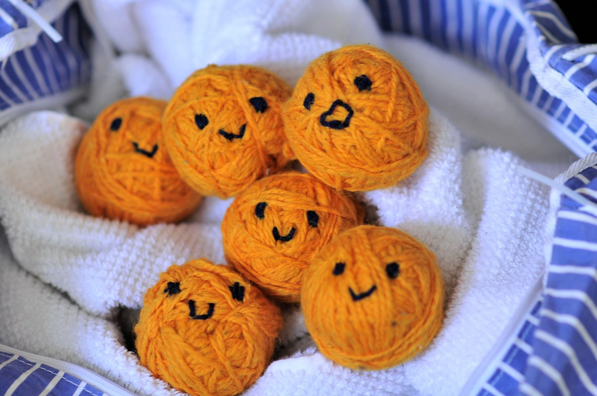 Happy Kawaii Dryer Balls