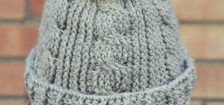 Diy Chunky Cabled Crochet Beanie With Free Pattern Kiku Corner