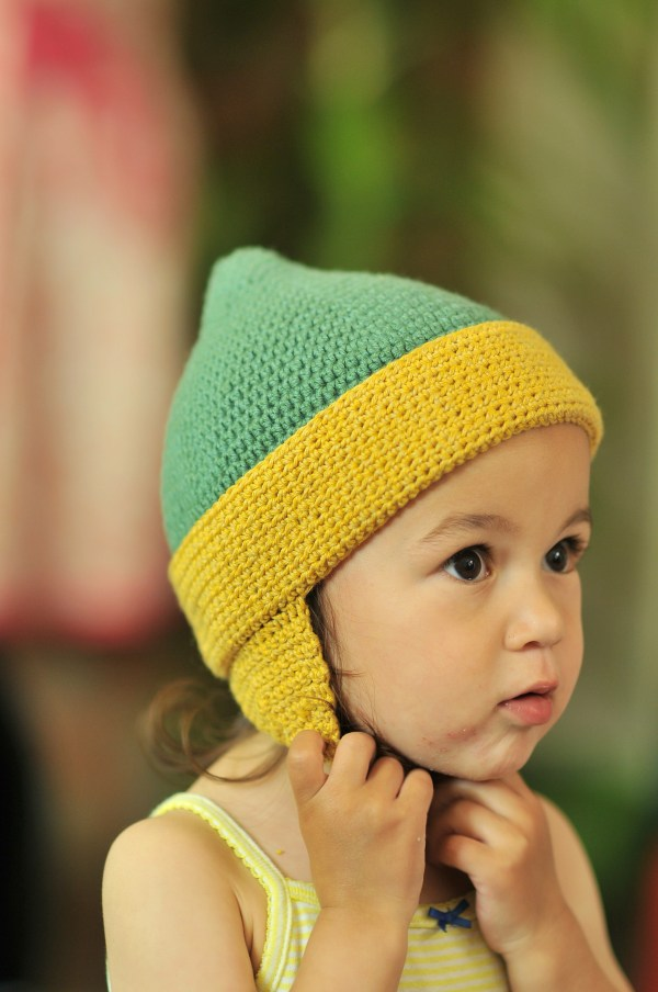 Diy Crochet Toddler Earflap Hat And Free Pattern Kiku Corner