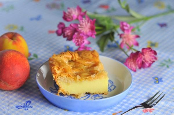 Galaktoboureko - Greek Custard Cake
