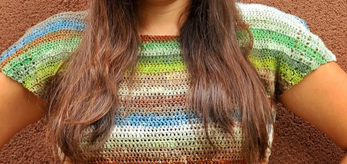 DIY Crochet Convergence Top