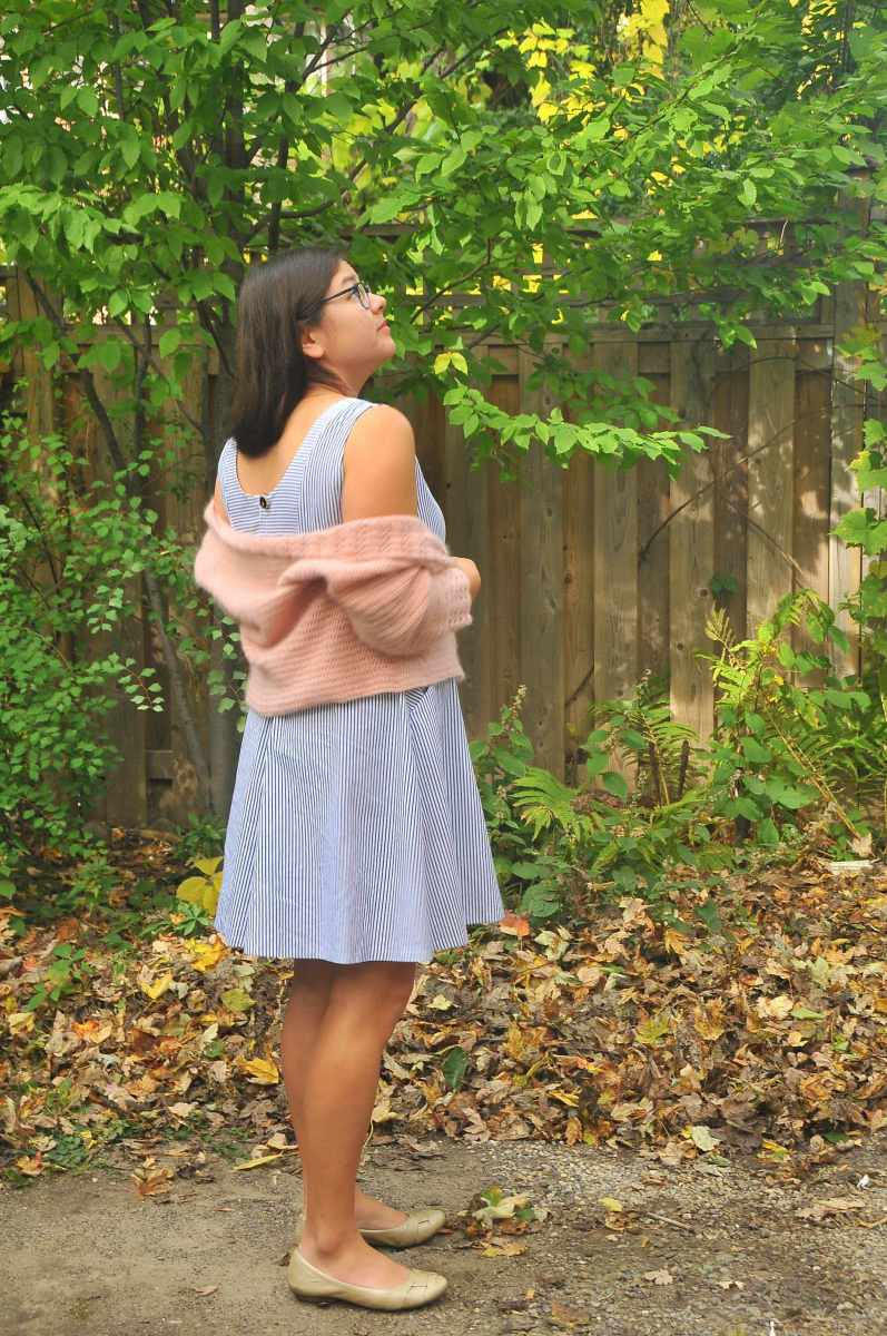 DIY: Crochet Linen and Lace Cardigan in Mohair by Annelies Baes