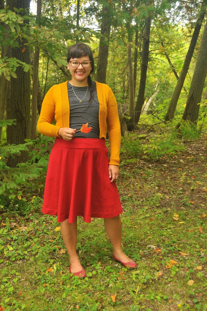 Mustard Featherweight Cardigan by Knitbot