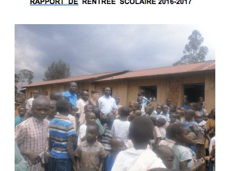 Vrai Rapport rentreè scolaire  2016-2017