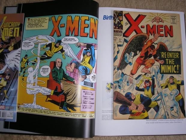 A korai X-men kinézete