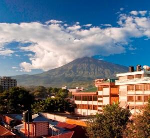 Arusha City Mt Meru View