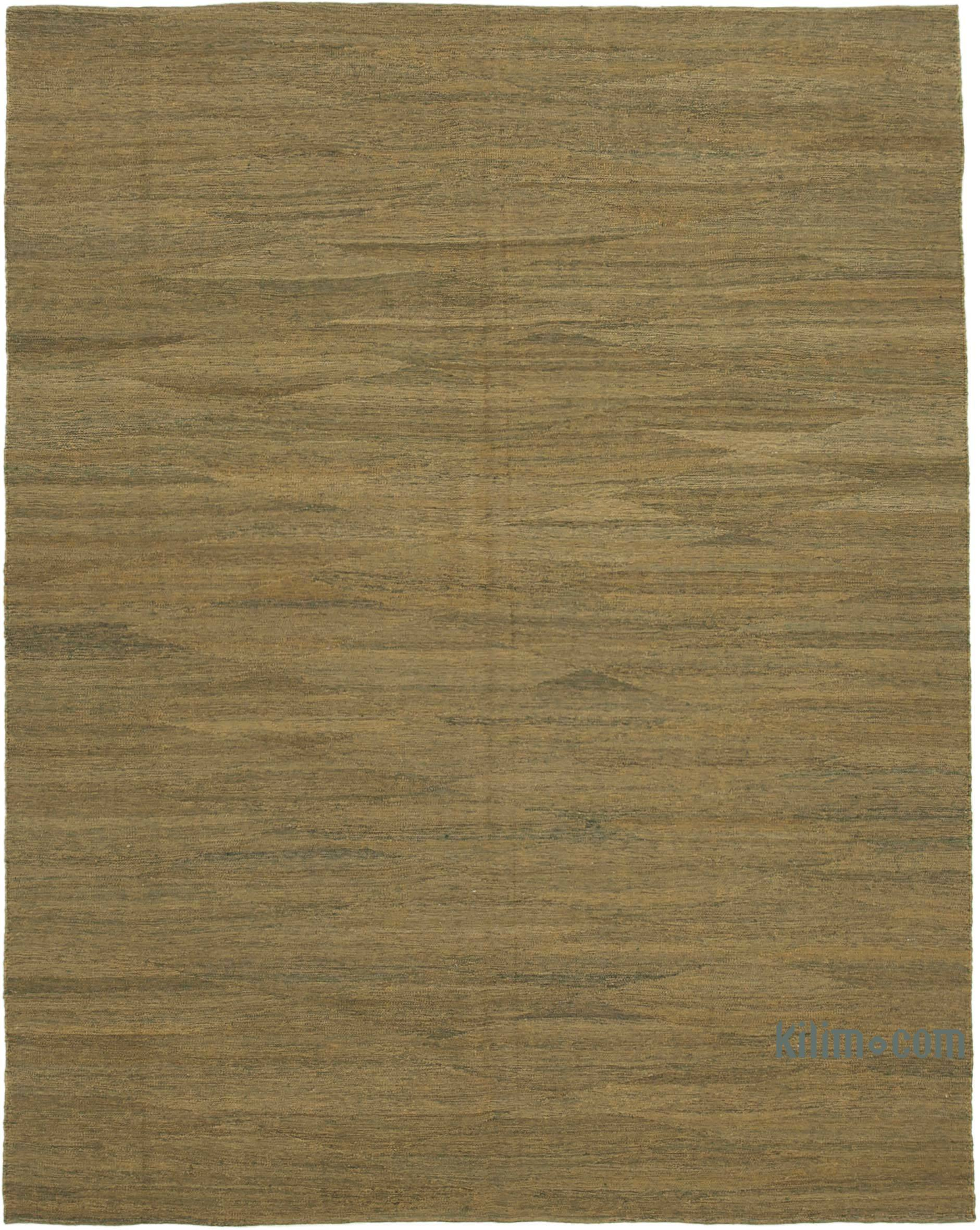 Green New Contemporary Kilim Rug Z Collection 8 3 X 10 6 99 In X 126 In