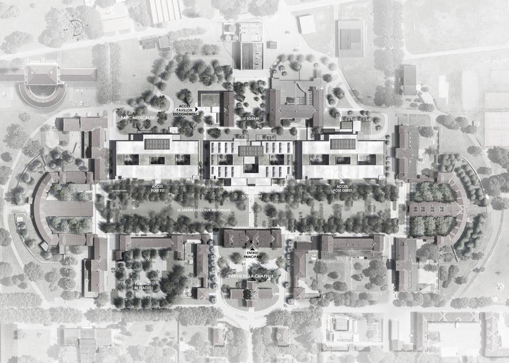 Kilinc Architecture HPITAL DU VINATIER BRON