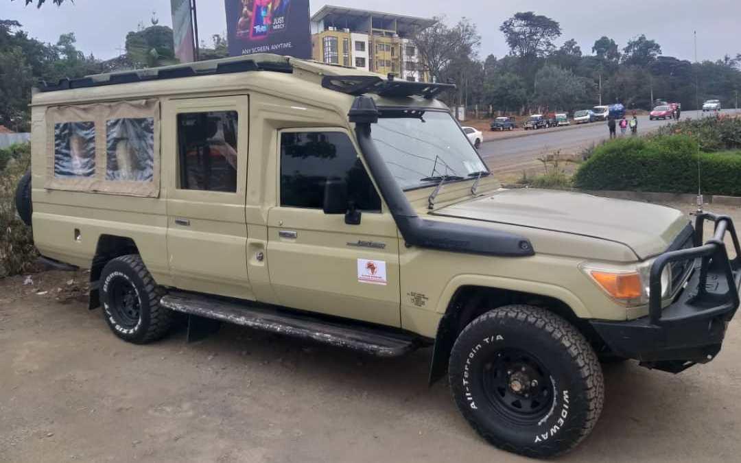 Kilipeak Adventure 4x4 Safari Extended Vehicles