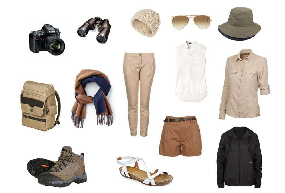 Kilipeak Adventure - Safari Packing List
