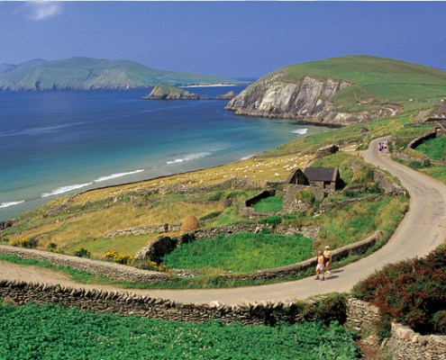 Dingle scenery in Ireland. The Dingle Day Tour is one of our most popular tours.