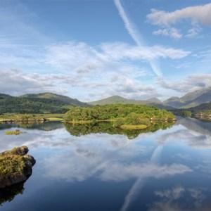 The lakes of Killarney in Ireland.