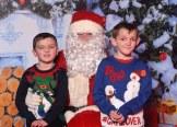 Santa with Gary and John O'Connor, Muckross, Killarney