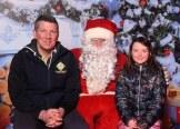 Alan and Emily O'Neill, Killarney with Santa