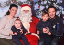 Sheila Marie and Pa Sheehan with children Padraig and Micheal