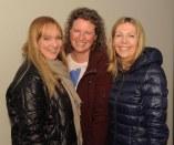 Elaine O'Shea, Sinead O'Mara and Frances Greaney at the Killarney Community Games athletics qualifiers