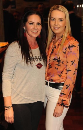 Mary Charlotte Sessions and Norrita Cronin at the club party