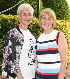 Claire Kiely and Noreen Kiely