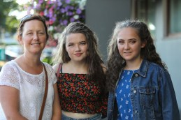 Joan Stoat (left) Rachael O'Keeffe and Ella Doyle