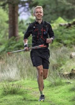 Gavin Byrne, the winner of the the 200km non-stop endurance race