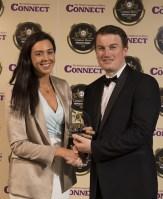 Niamh Sheehan, JM Reidy's, accepts the Best Pub Award