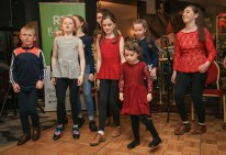 Stepping it out: local Irish dancers, performing