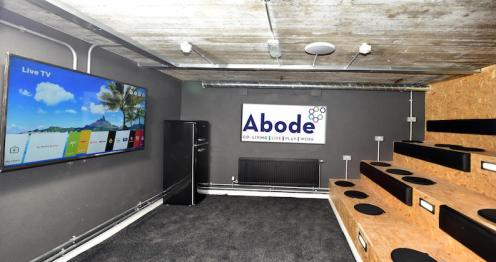 The cinema at Abode