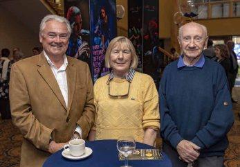 Derek Gibson, Mary Shannon and Noel Barnes