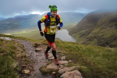Martin Crowley heads for the hills