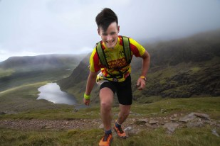 Tomás O'Donoghue competing, in the 2019 Dingle Adventure Race,