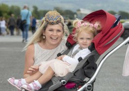 Mary Ladden and her baby Olivia from Castlemaine