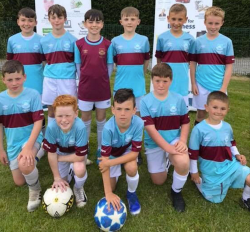 Under 12 winners The Hammers