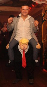 Kevin Culloty and 'Donald Trump'