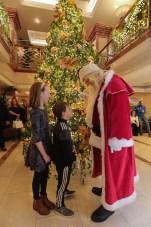 Santa with Lauren and Cillian Healy