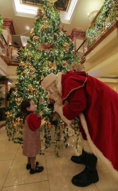 Santa Claus meets Sibeal O'Donovan