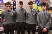 Denis Horgan, Jonathan Kerins, Jver Olver and Michael Nix from Castleisland